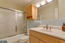 Hall bath - 15760 OAK LN, HAYMARKET