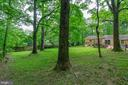 Massive fenced yard is just part of the 1.88 acres - 15760 OAK LN, HAYMARKET
