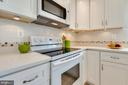 Renovated kitchen with lovely backsplash - 9404 WROUGHT IRON CT, FAIRFAX