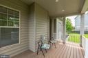 Covered Front Porch - 43800 GRANTNER PL, ASHBURN