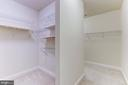 Walk in Closets in every Bedroom - 43800 GRANTNER PL, ASHBURN