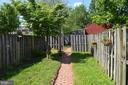 Adorable back yard & detached garage! - 235 W 5TH ST, FREDERICK