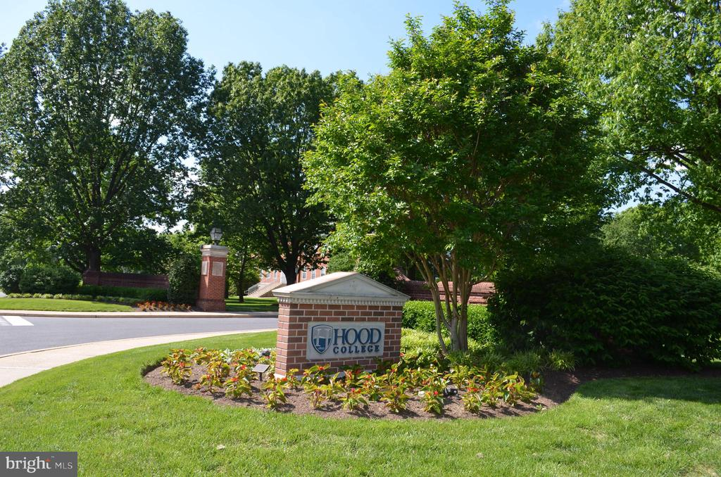 Frederick is home to Hood College - 235 W 5TH ST, FREDERICK