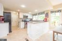 Newer cabinets, granite and SS appliances - 509 CINDY CT, STERLING