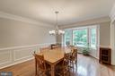 Crown Molding & Chair Rails - 12040 SUGARLAND VALLEY DR, HERNDON