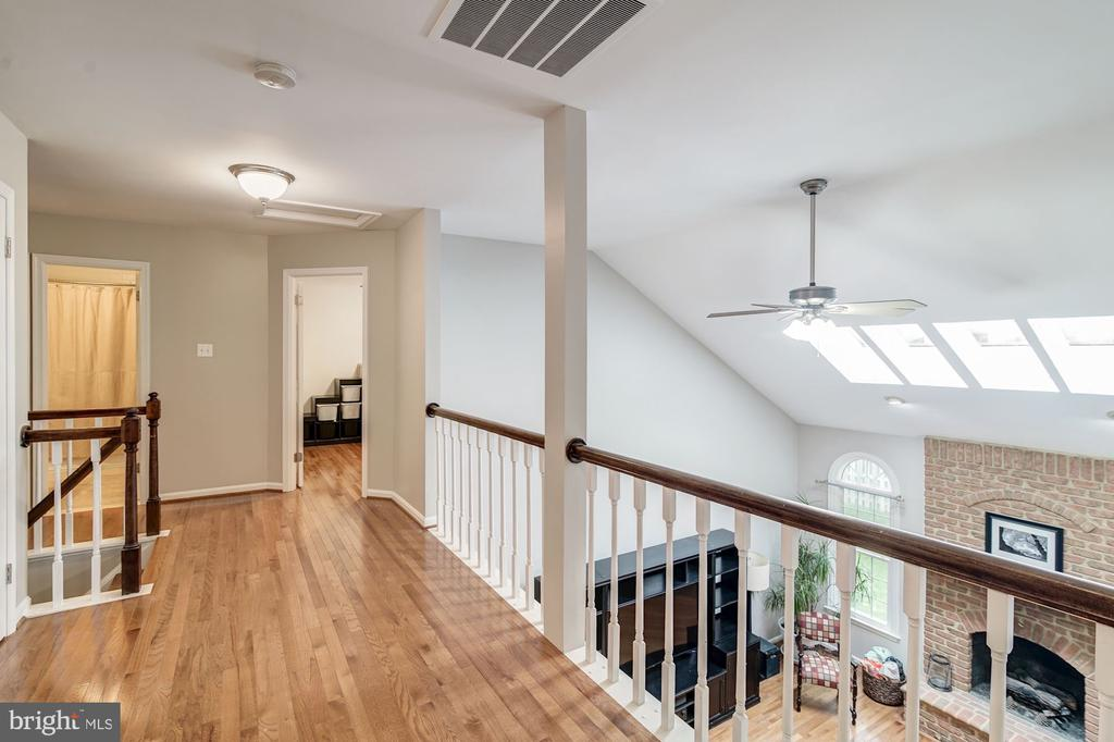 Hardwood Floors in all rooms on  2nd Level - 12040 SUGARLAND VALLEY DR, HERNDON