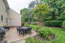 Backyard Patio- Great  Entertaining Space - 12040 SUGARLAND VALLEY DR, HERNDON