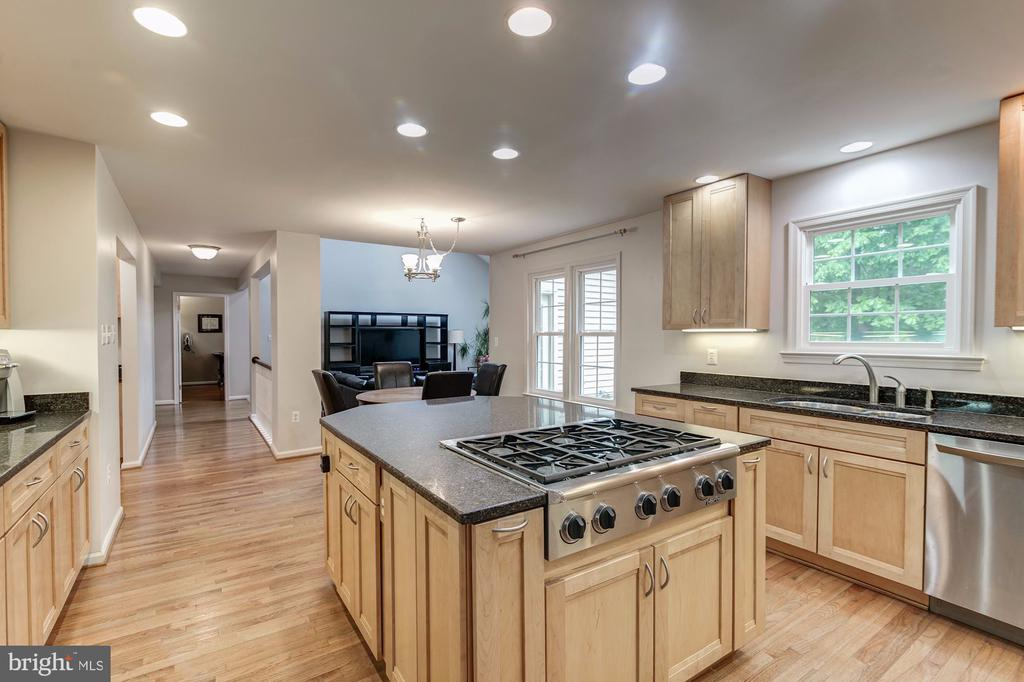 Island Cooktop - with gas cooking - 12040 SUGARLAND VALLEY DR, HERNDON