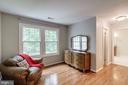 Sitting Room In Master Bedroom - 12040 SUGARLAND VALLEY DR, HERNDON