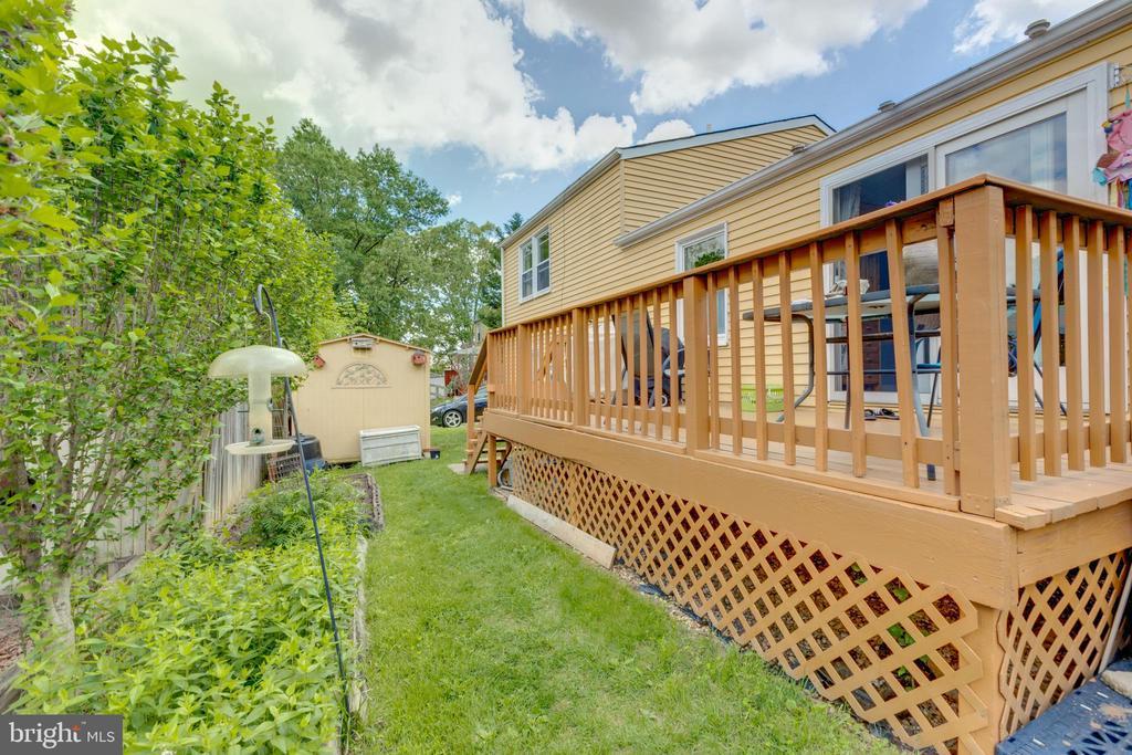 Back side view - 4409 1ST PL S, ARLINGTON