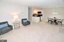 Large living dining room - 8353-E DUNHAM CT #643, SPRINGFIELD