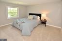 Master bedroom - 8353-E DUNHAM CT #643, SPRINGFIELD