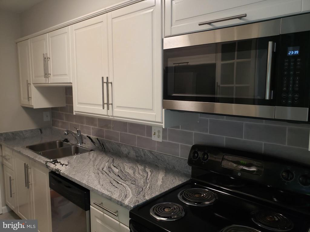 Brand new kitchen with Custom Cabinets - 8353-E DUNHAM CT #643, SPRINGFIELD