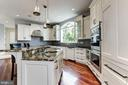 Chef's kitchen top-of-the-line appliances - 3 DEEPWATER CT, EDGEWATER