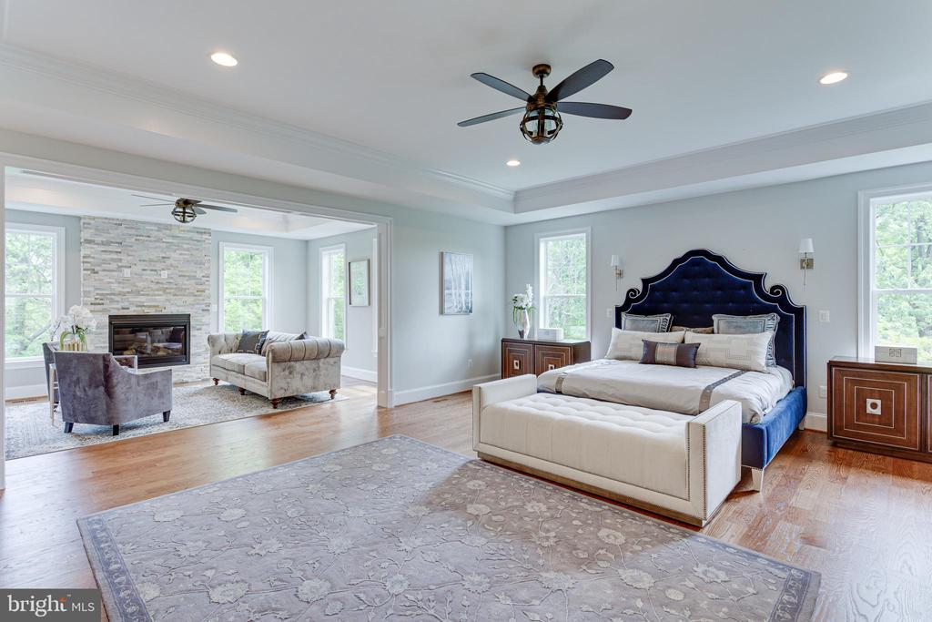 Master Suite - 7104 EASTMAN DR, FALLS CHURCH