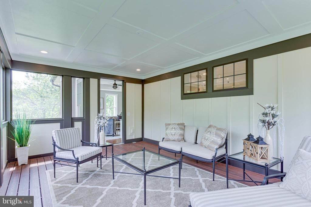 Master Suite Porch - 7104 EASTMAN DR, FALLS CHURCH