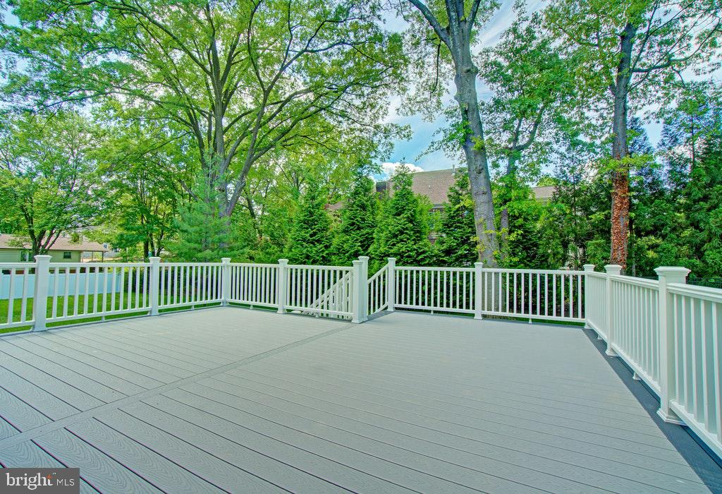 Deck off the kitchen - 1922 BYRD RD, VIENNA
