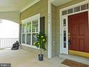 Front Porch - view 2 - 26013 RACHEL HILL DR, CHANTILLY
