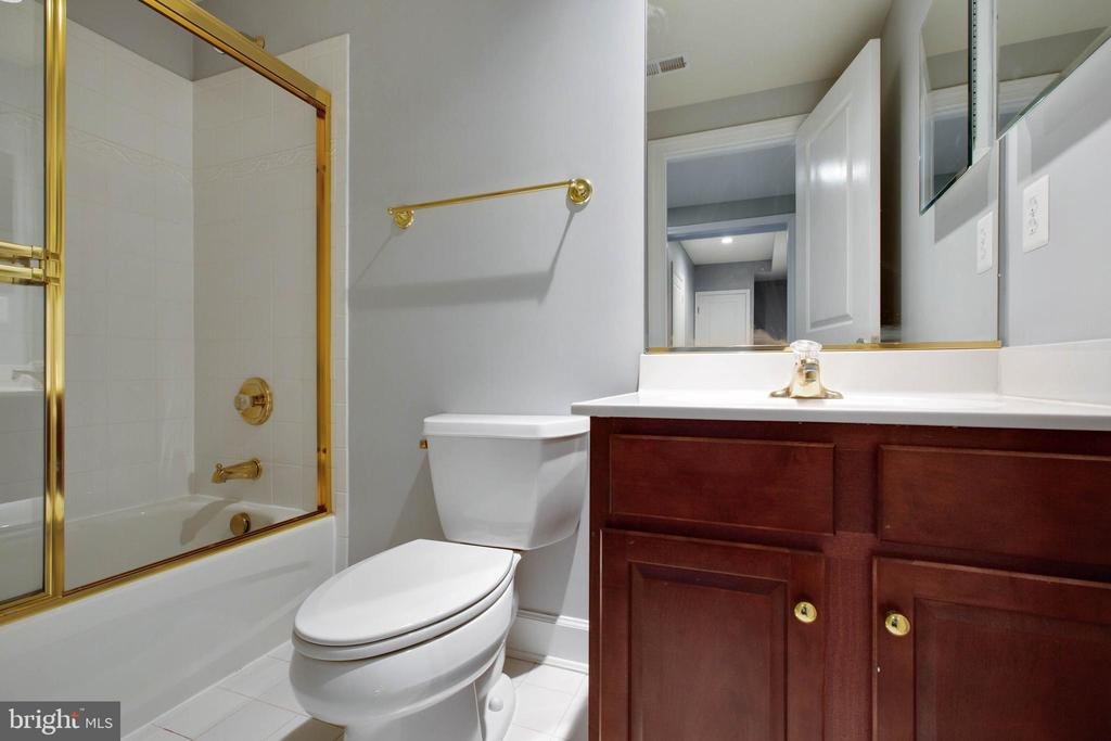 Lower Level Bathroom - 18184 SHINNIECOCK HILLS PL, LEESBURG