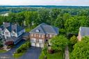 Aerial View of Front of Home - 18184 SHINNIECOCK HILLS PL, LEESBURG