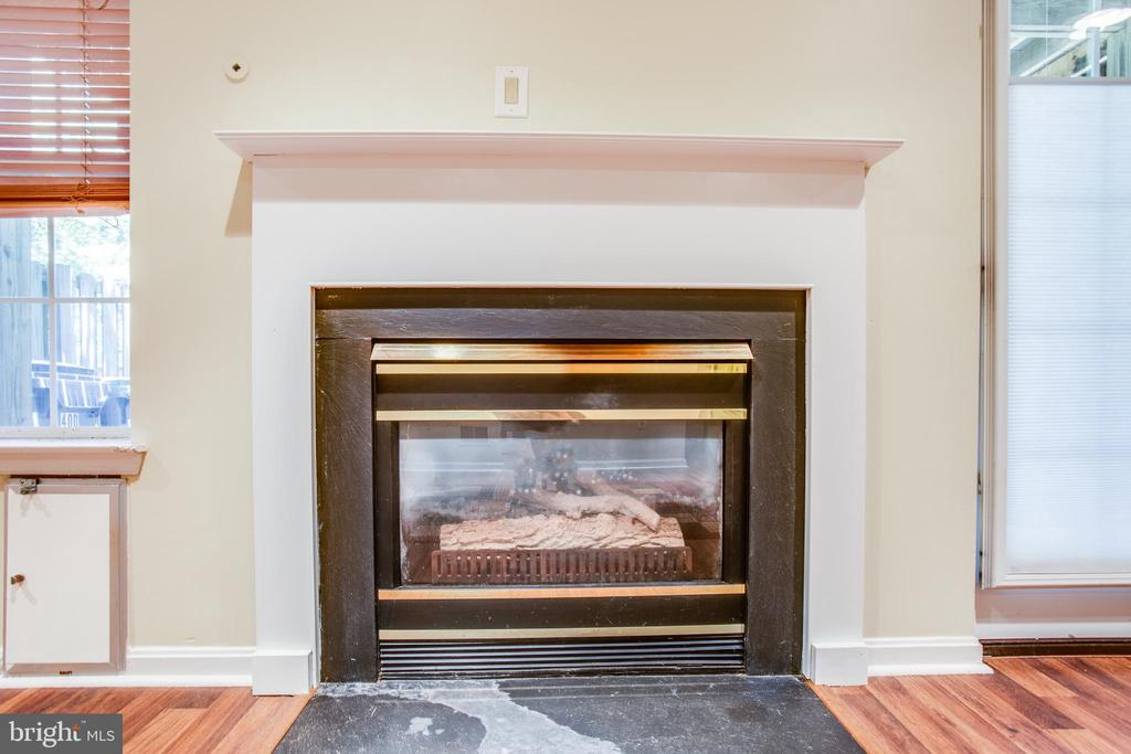 Close up of the fireplace - 400 WATERS COVE CT, STAFFORD