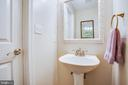 Half bath on main level - 400 WATERS COVE CT, STAFFORD