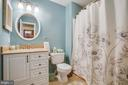Upper hall bath - new vanity & granite counter - 400 WATERS COVE CT, STAFFORD