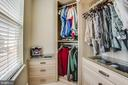 Master bedroom closet ! - 400 WATERS COVE CT, STAFFORD