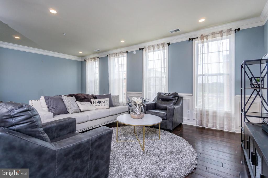 Lovely Living Room - 43174 WEALDSTONE TERRACE, ASHBURN