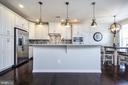 Large Kitchen Island - 43174 WEALDSTONE TERRACE, ASHBURN