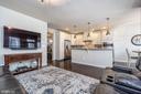 Family Room off the Kitchen - 43174 WEALDSTONE TERRACE, ASHBURN