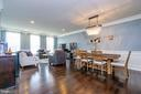 Combined Dining and Living Room Area - 43174 WEALDSTONE TERRACE, ASHBURN