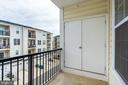 One of 2 Balcony Terraces with Storage - 43174 WEALDSTONE TERRACE, ASHBURN