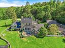 Rear aerial view - 39455 DIGGES VALLEY RD, HAMILTON