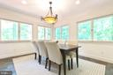 Dining Room-surrounded by Windows - 7207 OLDE LANTERN WAY, SPRINGFIELD