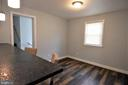 10 X 10 Dining Room Has Table Space - 9736 53RD AVE, COLLEGE PARK
