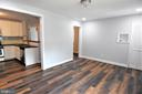 Great Flow to the Kitchen and Dining Rooms - 9736 53RD AVE, COLLEGE PARK