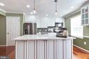 Beautiful Kitchen with Granite countertop - 5904 AMBASSADOR WAY, ALEXANDRIA