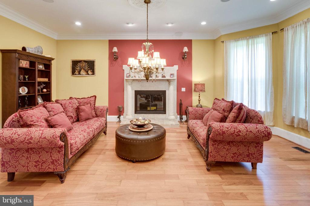 Living Room - 5315 OX RD, FAIRFAX