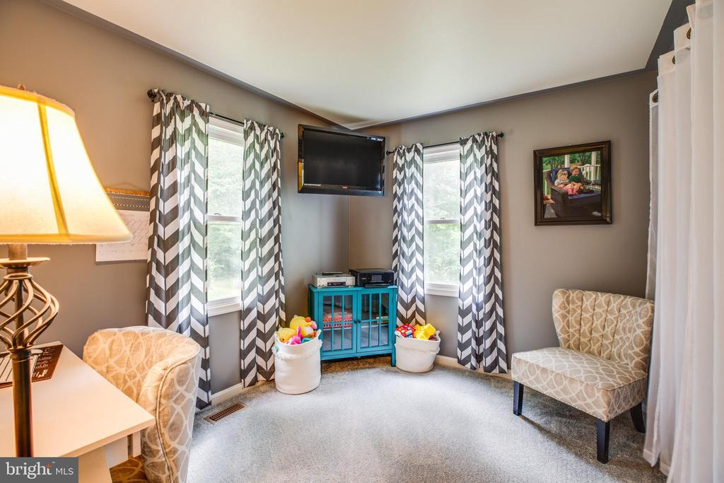 Main level bdrm/office/playroom - 6293 WATERFORD RD, RIXEYVILLE