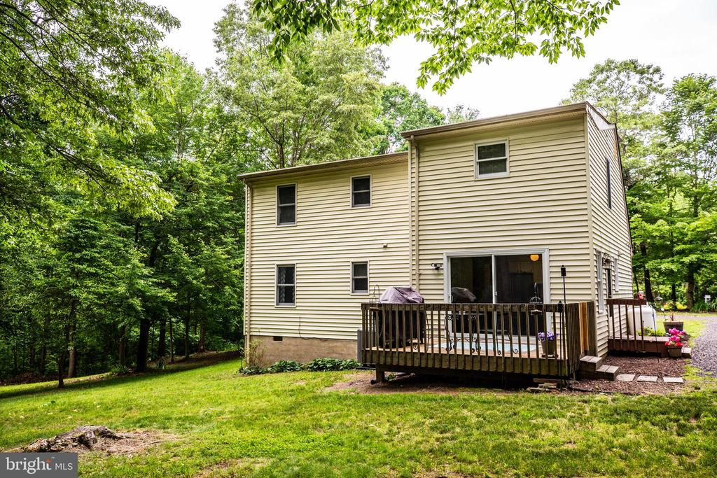 Rear View - 6293 WATERFORD RD, RIXEYVILLE