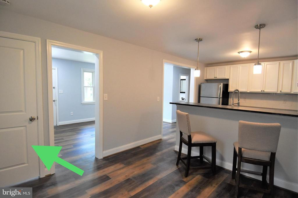 Door Can Be Locked For Privacy From Basement - 9736 53RD AVE, COLLEGE PARK