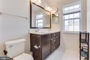 Master Bath Dual Vanity plus Window - 23143 FLORA MURE DR, ASHBURN
