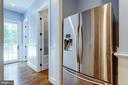 Refrigerator in pantry - 8704 STANDISH RD, ALEXANDRIA