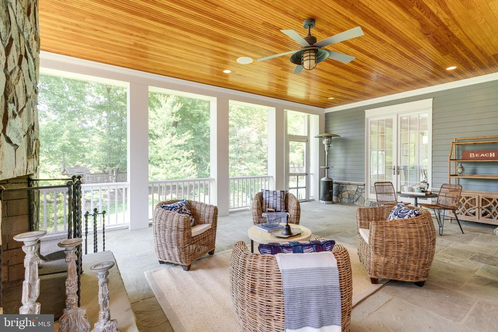 RELAX all year round with this porch and view - 8704 STANDISH RD, ALEXANDRIA