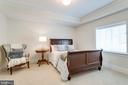Lower level bedroom - 8704 STANDISH RD, ALEXANDRIA