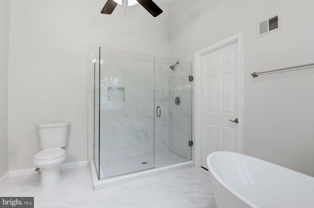 Master Bath remodeled in 2019 - 12040 SUGARLAND VALLEY DR, HERNDON