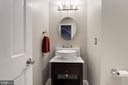 Main Floor Powder Room - 12040 SUGARLAND VALLEY DR, HERNDON
