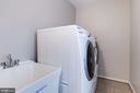 Laundry Room - 12040 SUGARLAND VALLEY DR, HERNDON