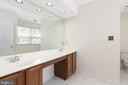 This Master Bath Has a Double Vanity! - 11 LAWRENCE LN, FREDERICKSBURG